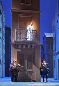 Cyrano de Bergerac   Set Design by Peter J. Davison   Directed by Francesca Zambello
