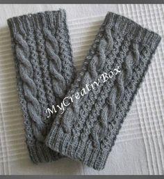 Knitted Headband, Hand Warmers, Diy Clothes, Fingerless Gloves, Crochet Patterns, Etsy, Knitting, Blog, Handmade