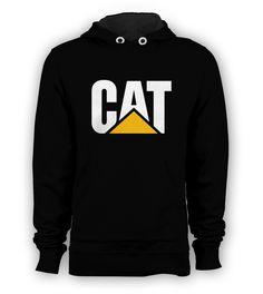 CAT Caterpillar Pullover Hoodie Sweatshirt Men S to