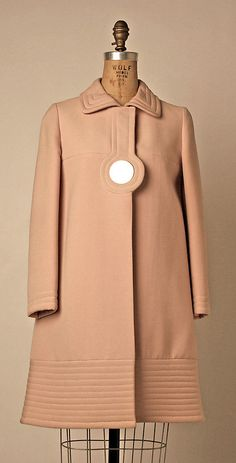 Coat Pierre Cardin, 1968 The Metropolitan Museum of Art (OMG that dress!)