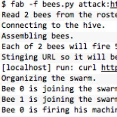 A utility for arming (creating) many bees (micro instances) to attack (load test) targets (web applications). Stand Down, Digital News, Chicago Tribune, Web Application, Connection, Coding, Bees, Wood Bees, Programming