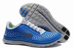 Kjøpe Nike Free 3.0 V4 Soar Reflect Silver Sko Blå Pure Platina Herre 69185