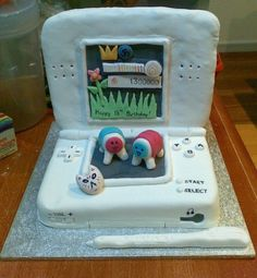 child's birthday game cake