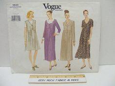 1996 ~ vogue Pattern ~ maternité ~ SZ 14-16-18 ~ # 1833 ~ vêtements pour femmes