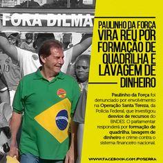 Paulinho da Força vira réu por lavagem de dinheiro e formação de quadrilha  O deputado fed… http://ift.tt/1obg6Wy