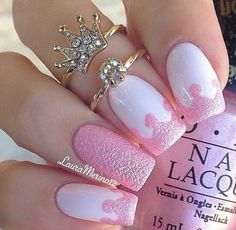 Princess nails by LauraMarino12♥♥