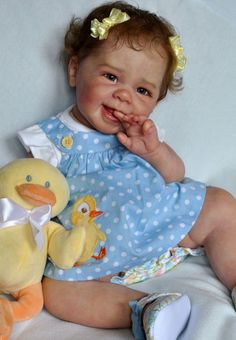 Alla's Babies Reborn Doll Baby Girl Maizie, Andrea Arcello,IIORA  --  $1,075.00 and 3&1/2 days left.