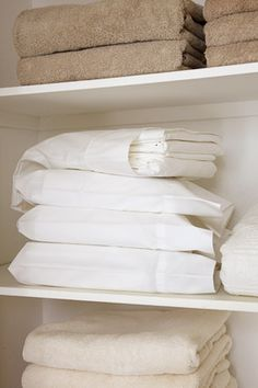 store the entire set of sheets inside one of the pillow cases