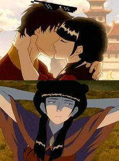 Avatar: The Last Airbender Photo: Deal With It Mai And Zuko, Avatar The Last Airbender Art, Air Bender, Legend Of Korra, Films, Movies, Best Shows Ever, Hunger Games, Cartoons