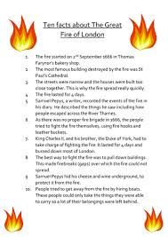 Image result for the great fire of london information ks1