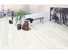 Korkboden holzoptik hell  527380 Haro Korkboden Corkett Design Lagos weiss lackiert ...
