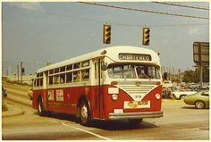 CRTC MACK BUS IN NEWPORT NEWS, VA.