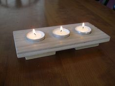 Wooden Candle Holder by scottywojo on DeviantArt