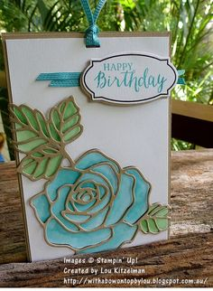 With a bow on top: ESAD 2016 Occasions & Sale-a-bration blog hop with Wonderful Rose Wonder