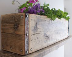 MONTAGU | Reclaimed Wood Window Box - Handmade & Bespoke.