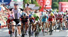 Degenkolb ganó la cuarta etapa de la Vuelta España; Nairo sigue segundo y Urán es cuarto