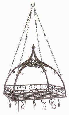 Domed Hanging Pot Rack