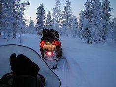 Saariselka, Finland - Lapland