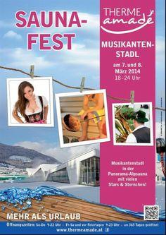 Musikantenstadl am 7. + 8. März 2014 in der Panorama-Alpsauna mit vielen Stars & Sternchen!