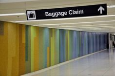 Vintage Los Angeles | And how about those vintage mid century tiles at LAX that direct you to the baggage claim?