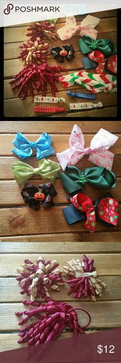 Mixed assortment What you see is what you get. All new from my children's boutique Accessories Hair Accessories