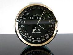 Tachometer TACHO, replica speedomet SMITH-Style, f. Enfield & Oldtimer, 160km/h