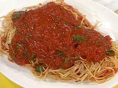 Spaghetti all' Elsa recipe from Rachael Ray via Food Network