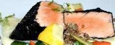 salmon a la ceniza
