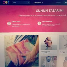 """Zet'de günün tasarımı, Anatolian Girls """"pozitif"""" el çantası! Bir hafta için indirimli. İyi alışverişler dileriz! #anatoliangirls #design #bag #zetsocial #cool #indirim #alışveriş #çanta #sadece #bir #hafta #için"""
