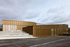 Culture centre in Saint Germain lès Arpajon by Atelier O-S architectes
