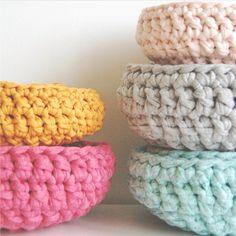 Crochet baskets *Pre order   Tea and Kate