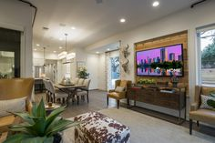 Pictures of the HGTV Smart Home 2015 Living Room | HGTV