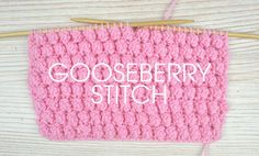 Want to give a new stitch a go this weekend? You're in luck! Try the gooseberry stitch as part of our fabSomething for the Weekendseries! The gooseberry pattern stitch is formed of a combination of yarn overs and knitting stitches to create these fab clusters. It gives great texture and a chunky feel to any …