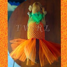 Pumpkin Dog Costume by TheTwirl on Etsy