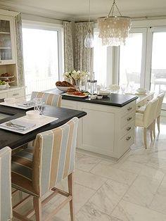 Kitchens On Pinterest Tile Floor Kitchen Glass