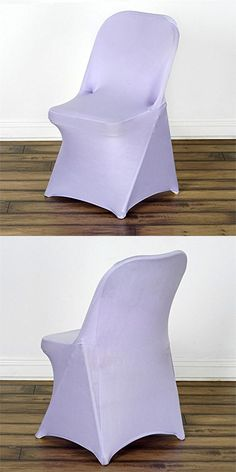 BalsaCircle 10 Pcs Spandex Folding CHAIR COVERS Wedding Supplies
