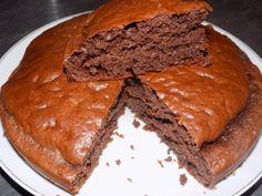 Génoise au chocolat rapide dukan