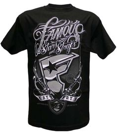 Famous Stars & Straps Rough House T-shirt Black Famous Stars And Straps, Mens Fashion, Fashion Outfits, Swagg, American Apparel, Your Style, Sweatshirts, Mens Tops, T Shirt