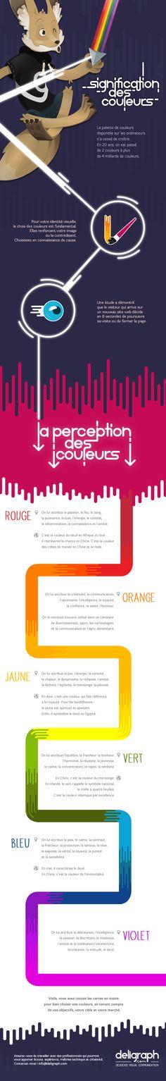 l'importance et la signification des couleurs (infographie, graphisme, créativite) mais également au niveau psychologique. Hélène