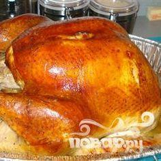 Рецепт приготовления идеального индюшиного жаркого. Очень вкусная и нежная индейка просто идеально смотрится на праздничном столе.
