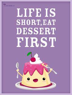 Die 10 besten Küchensprüche zum Herunterladen - eat-dessert-first Rezept