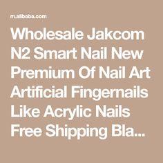 Wholesale Jakcom N2 Smart Nail New Premium Of Nail Art Artificial Fingernails Like Acrylic Nails Free Shipping Black Inci Caviar From m.alibaba.com Smart Nails, Caviar, Acrylic Nails, Nail Art, Free Shipping, Black, Black People, Acrylics, Nail Arts