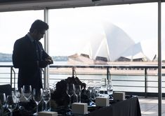 Sydney's iconic harbour inspired an oceanic wonderland for the launch of Omega's Deep Black timepiece. Omega Planet Ocean, Viktor Rolf, Florists, Wonderland, Product Launch, Artists, Dinner, Inspired