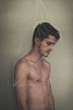 geometric silhouette.