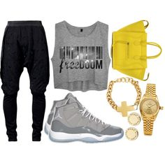 """""""She Take Pride In Going Out, Getting Holla'd At, & Saying 'Naw.'"""", created by neekcole on Polyvore"""