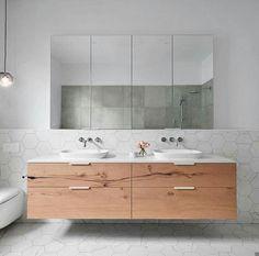 Caesarstone fresh concrete vanity top