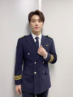 Woozi, Wonwoo, Jeonghan, Going Seventeen, Seventeen Album, Dino The Dinosaur, Pilot Uniform, Adore U, Seventeen Wallpapers