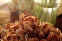 Cestinhas de flor de coco