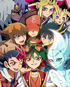 Yugioh - Yuya, Yuma, Astral, Yusei, Jaden, Yubel, Yugi, Atem