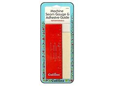 Collins Machine Seam Gauge and Adhesive Guide